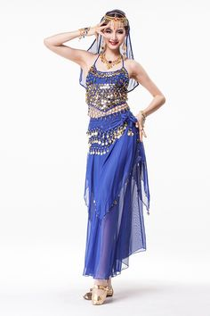 Dance Type: Belly Dancing Gender: Women Material: Acetate,Acrylic,Rayon,Spandex Product Type: Stage & Dancerwear Supply Type: In-stock Items