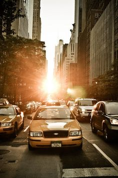 Sunset in Gotham.jpg by Robin LeBlanc, via Flickr #NYCLove