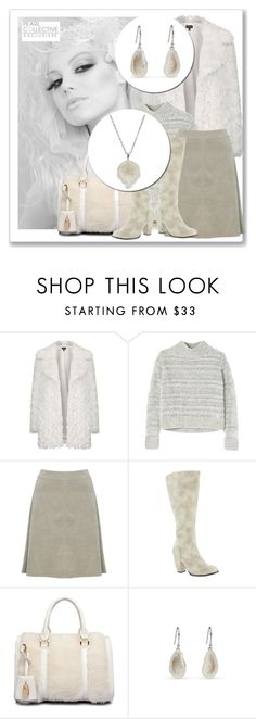 """""""SHOP - Pearl Collective - Necklace & Earrings"""" by pearlcollective ❤ liked on Polyvore featuring Topshop, Rebecca Taylor, M&Co and Michael Antonio"""