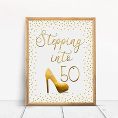 Stepping into Happy Birthday Sign, Cheers to 30 Years, Anniversary Sign, Confetti Gold Party Decoration, Birthday décor - annika Happy 80th Birthday, Birthday Cheers, 70th Birthday Parties, Happy 30th, 50th Birthday Party Decorations, Gold Party Decorations, Anniversary Gifts For Parents, 30th Anniversary, As You Like