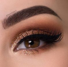 Perfektes Make-up?selection - eye make up makeup makeup up artistico up night party make up make up gold eye make up eye make up make up Denitslava Makeup, Prom Makeup Looks, Blue Eye Makeup, Smokey Eye Makeup, Makeup Inspo, Eyeshadow Makeup, Bridal Makeup, Eyeliner, Makeup Ideas
