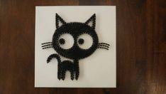 Items similar to Big-Eyed Cat String Art on Etsy