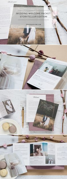 Wedding Welcome Packet: Storyteller Edition Wedding Photography Pricing, Wedding Photography And Videography, Photography Business, Photography Contract, Photography Studios, Photography Ideas, Wedding Album, Wedding Planner, Wedding Photos