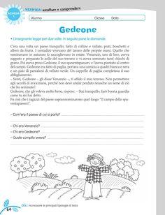luni e tuni Italian Vocabulary, Italian Language, Learning Italian, Problem Solving, Homeschool, Teaching, Writing, Printables, Vacation
