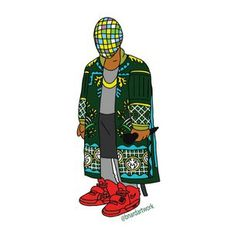 """This Awesome Illustrator Draws Your Favorite Rappers As """"Simpsons"""" Characters"""