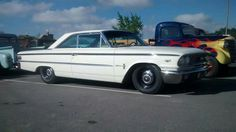 '63 Galaxie 427 with a cool Weber or Inglese set up.