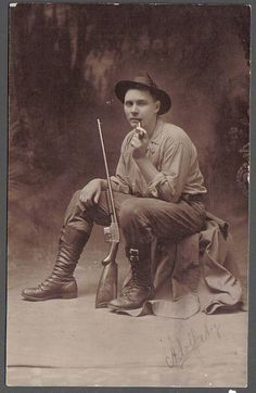 vintage hunting photographs