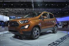 Ford Unveils New EcoSport Subcompact SUV