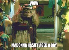 If only Madonna was this charming during the Super Bowl halftime show.