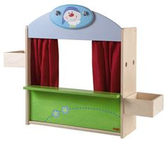 Puppet Theater for Kids - Haba Puppet Theater Two amazing toys in one