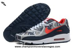 2013 Nike Air Max 90 2013 Differentiation Black Grey Red Mens Shoes For Sale