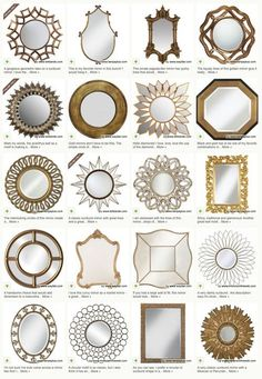 Aesthetic Oiseau: 20 Gold Mirrors Under $200