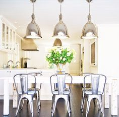 Rustic/modern dining room