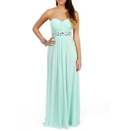 Macaria- Mint Beaded Prom Dress - not exactly what we want but the price is better! $109.90