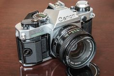 My mint Canon AE-1 program.    Looking to trade for other vintage cameras.