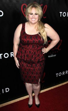 Rebel Wilson from The Big Picture: Today's Hot Pics  Va-va-voom! The funnygal shows off her curves at the L.A. launch party for her fashion collab with Torrid.