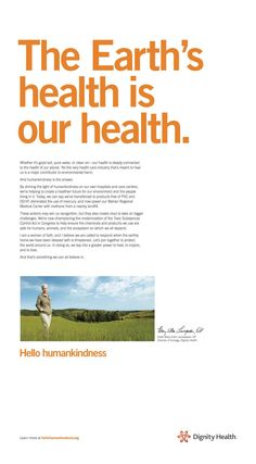 can our humanity save humanity dignity health - Google Search