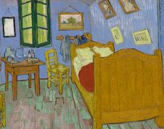 Kelly Kilmer Artist and Instructor: Van Gogh's 'Bedroom' on Loan From the Art Institute of Chicago at The Norton Simon Museum in Pasadena