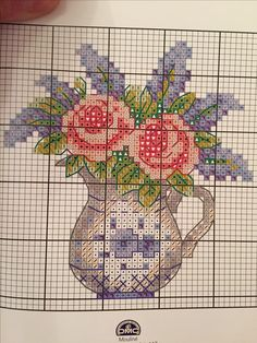 Christmas Embroidery Patterns, Hand Embroidery Art, Cross Stitch Embroidery, Cross Stitch Patterns, Cross Stitch Bookmarks, Cross Stitch Cards, Cross Stitching, Small Cross Stitch, Cross Stitch Flowers
