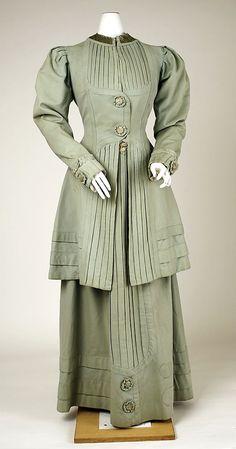 Suit, ca. 1908 Culture: American Medium: wool Accession Number: 1989.246.6a, b The Metropolitan Museum of Art
