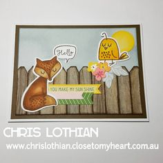 Creating a scene with the cute critters in the Some Kinda Wonderful cardmaking stamp & thin cut set, along with an array of complement stickers #chrislothianclosetomyheartconsultant #cardmakingisfun #ctmhfundamentals #ctmh #ctmhthincuts #ctmhcomplements #colouringfun #handmadecards #papercrafting