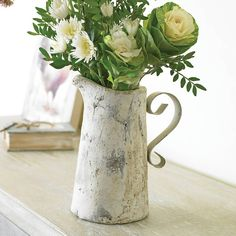 french rustic pitcher by dibor | notonthehighstreet.com