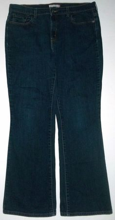 Levi's 515 Dark Wash Bootcut Jeans-Womens-Sz 14 Medium #Levis #BootCut