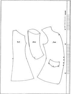 1720-tal, 1730-tal, 1740-tal, rock, ärmväst, väst, mönster. Pattern, waistcoat.