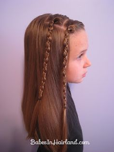 great site for hair tutorials, my daughter loved this one.