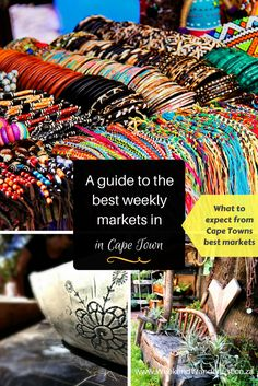 Markets in Cape Town. Cape Town loves markets, and you can find a market just about anywhere, but, not all markets are created equal. Here are some of the best markets in Cape Town, where you will find delicious food, Creative crafts and live music to set the mood. These are really more of an experience, than just a plain Market.