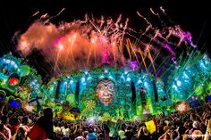 Tomorrowland Festival - Yesterday is history, Today is a gift, Tomorrow is mystery - WhereParty