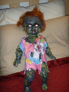 HF member zombie toxic doll