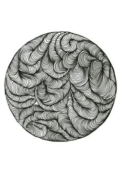 Items op Etsy die op Print doodle DOT NO. Doodles, Dots, Plates, Tableware, Licence Plates, Plate, Dinnerware, Dishes, Scribble