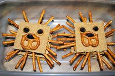 [orginial_title] – Angie Hyde More preschool snacks…the kids loved these lions! {Sorry there is no link, but… More preschool snacks…the kids loved these lions! {Sorry there is no link, but this is too precious not to share here} Jungle Snacks, Kinder Party Snacks, Animal Snacks, Snacks Für Party, Kid Snacks, Lunch Snacks, Bag Lunches, Work Lunches, Healthy Lunches
