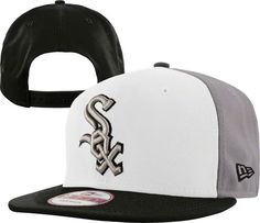 MLB Chicago White Sox Snapback Hats Caps Red and white gray 3372! Only $8.90USD