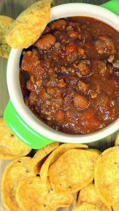 Chili - Brown and Dump Crock Pot Easy  My Favorite - Just Brown the Hamburger and open a few Cans.  Dump everything in a Crock Pot in the morning and that evening you have CHILI with a thick rich gravy, Plenty of Seasonings and Flavors!  Perfect for a Soup and Sandwich Catered Lunch or PotLuck!