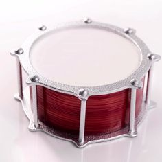 Amaury Guichon is back; this time with a beautiful Snare Drum made of two layers of light chocolate sponge soaked with a vanilla and Kirsch syrup, a light chocolate pastry cream, a fresh black cherry Fancy Desserts, Delicious Desserts, Dessert Recipes, Yummy Food, Tasty, Chocolate Pastry, Chocolate Art, Chocolate Sponge, Cherry Compote