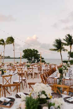Inspired by the relaxed yet glamorous aesthetic of the Ocean Reef Club, the couple wanted to create a wedding weekend that would encourage guests to truly unwind. wedding aesthetic La Dolce Vita Meets Old-School Beach Style at This Wedding in Key Largo Wedding Venues Beach, Wedding Ideas, Barn Weddings, Wedding Ceremonies, Destination Weddings, Romantic Weddings, Wedding Pictures, San Diego Wedding Venues, Beach Wedding Inspiration