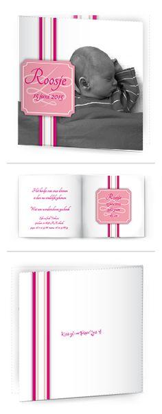 Bekijk de leukste kaartjes op onze site | http://www.kissgeboortekaartjes.nl | #baby #geboortekaartje  #kissgeboortekaartjes #foto #meisje