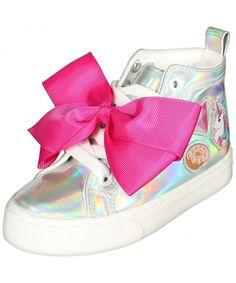 Best Seller JoJo Siwa Girls' Fashion High Top Sneakers (Little Girl/Big Girl) online - Looknewshop Girls Sneakers, Girls Shoes, Sneakers Fashion, Fashion Shoes, High Top Sneakers, Fashion Outfits, Shoes Sneakers, New Fashion, Girl Fashion