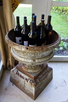 Great use for urns!