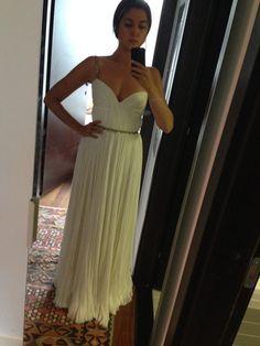 Custom Made 'J Mendel' size 4 sample wedding dress - Nearly Newlywed