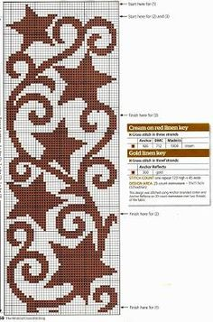 Piccola collezione di cornici e bordi a punto croce Painting Patterns, Craft Patterns, Christmas Deco, Christmas Crafts, Hand Embroidery Flowers, Crochet Table Runner, Diy And Crafts Sewing, Cross Stitch Embroidery, Crafty