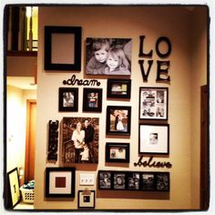 Idea for a gallery wall