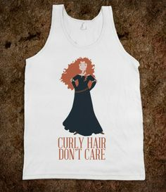 Curly Hair Don't Care Tank