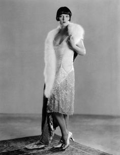 1920s formal gown. Click for a brief summary of 20s fashion.