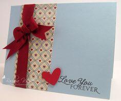 The Buzz: January 2012 -- Love you forever card