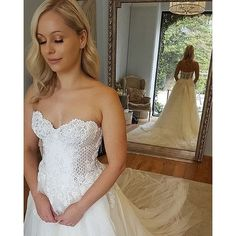 Long Wedding Dresses UK,Buy A-Line Sweetheart Strapless Lace Tulle White Sleeveless Wedding Dress with Appliques on jolilis Lace Wedding Dresses Uk, Backless Lace Wedding Dress, Wedding Dress Train, Custom Wedding Dress, Applique Wedding Dress, Bridal Dresses, Wedding Bouquets, Cheap Prom Dresses, Formal Dresses