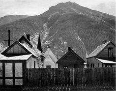 Silverton, Colorado.  Ansel Adams, I love his work.