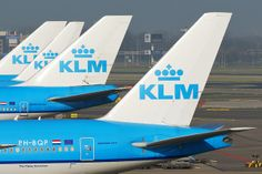 KLM Royal Dutch Airlines. We flew them to Rome on our second trip there.